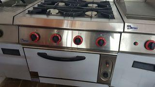cocinas con horno industrial