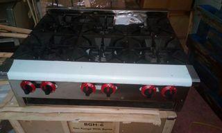 cocina 6 fuegos industrial nueva