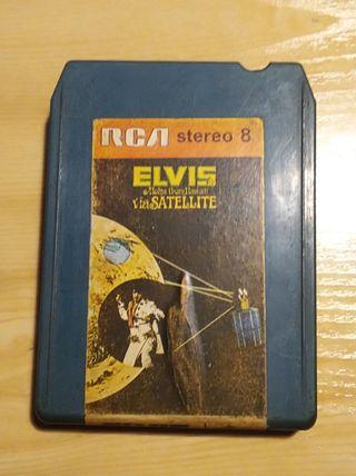 Cartucho stereo 8 pistas Elvis Presley