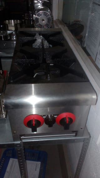 cocina 2 fuegos industrial nueva