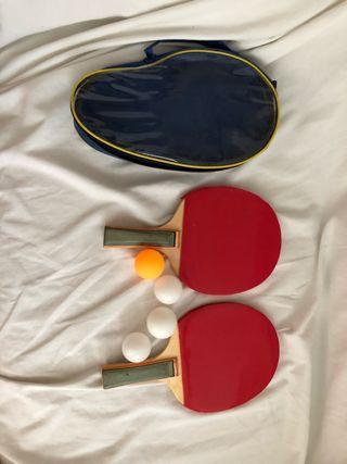Pack de palas ping pong