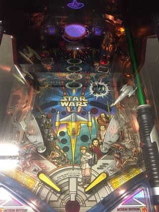 pinball Star Wars Episodio I de colección