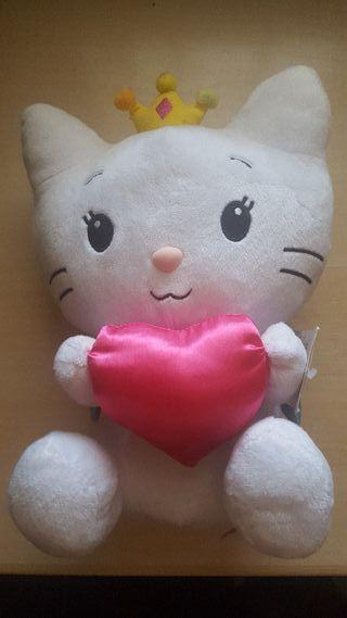 Peluche mediano Hello Kitty con etiqueta