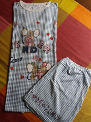 Pijama corto chica