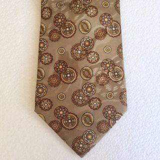 Corbata Lanvin de Seda Vintage Nueva
