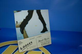 vinilo LP-disco- David Bowie Lodger -año 1979