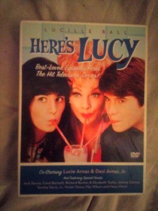 """Coleccion de 4 DVDs de """"Here's Lucy"""""""