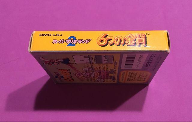 SUPER MARIO LAND 2 game boy Nintendo