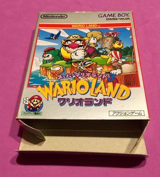 WARIO LAND super Mario land 3 game boy