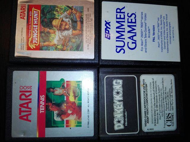 Juegos Atari 2600 Originales De Segunda Mano Por 12 En Zaragoza En