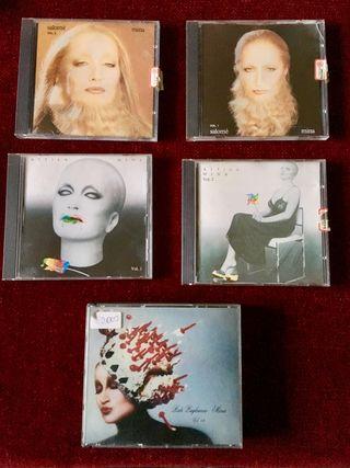 Lote 6 discos de MINA