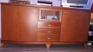 BUFFET CHAPA MADERA COLOR CEREZO