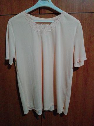 camiseta color salmon