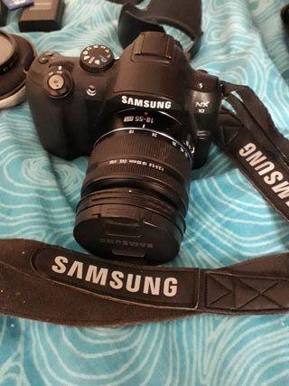 SAMSUNG NX10 camera con SD 16gb