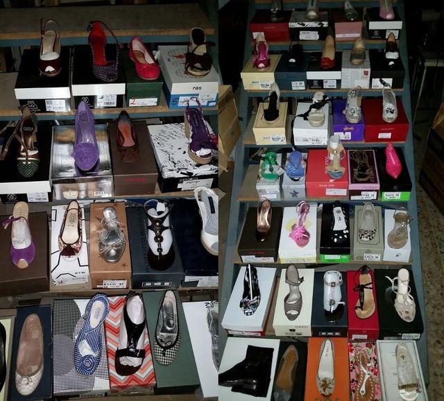 zapato mujer lote 50