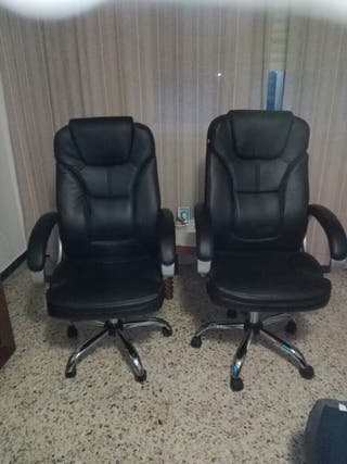 silla giratoria de oficinas