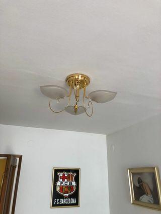 lámpara dd 3 hojas