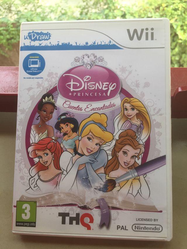 Wii- Disney Princesa: Cuentos Encantados.