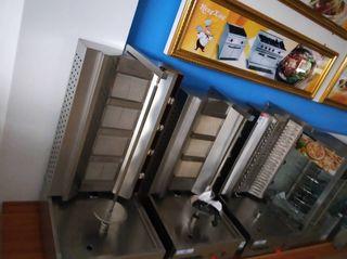 maquina de kebab 3, 4 y 5 fuegos