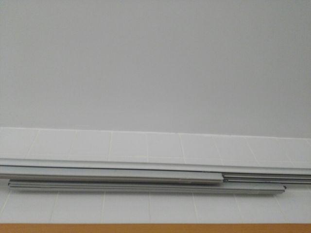 Barra más tres rieles para paneles chinos