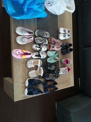 zapatos sandalias niña talla 23 24 25