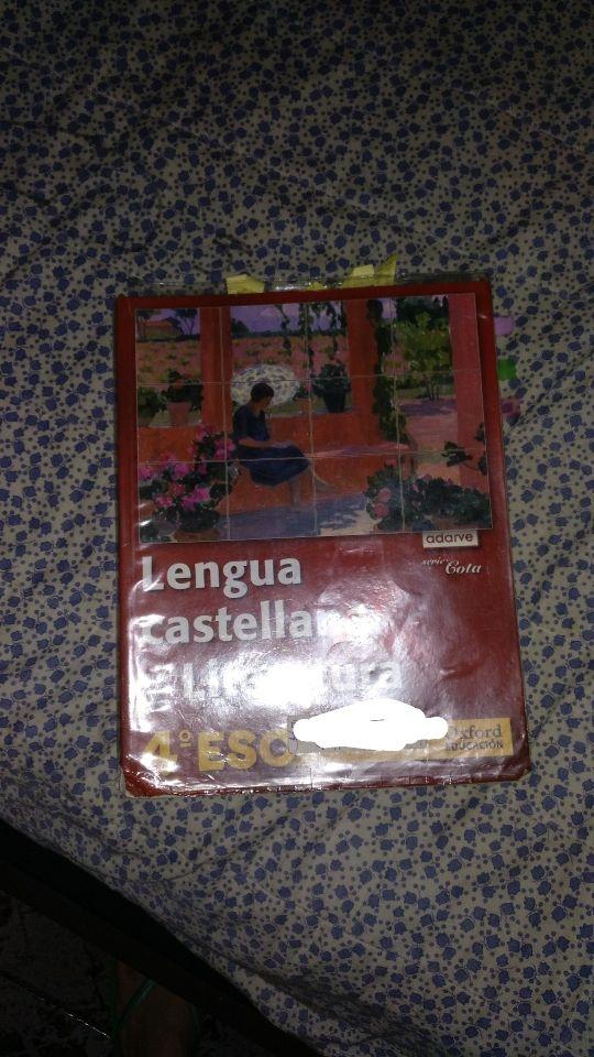 Libro lengua 4 ESO
