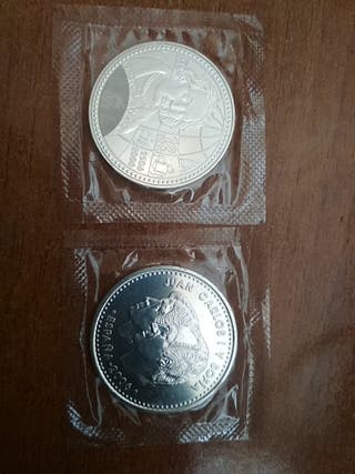 Moneda de plata de 12 euros año 2006