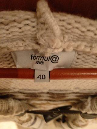 chaqueta marca formula joven talla 40