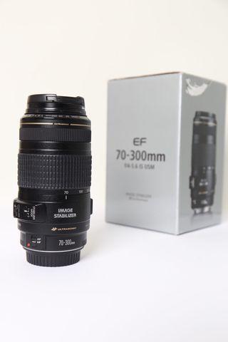 Objetivo Canon 70-300 Ef