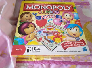 MONOPOLY JUNIOR FIESTA
