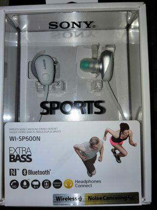 Auriculares wireless Sony wi-sp600n