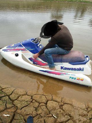 Moto de agua 750 2 tiempos