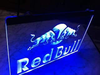 Cartel luminoso Red Bull