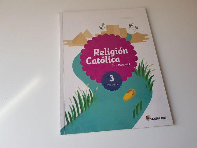 Libro Religión Católica...3° Primaria