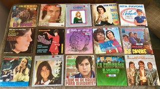 Lote 15 discos 45 rpm