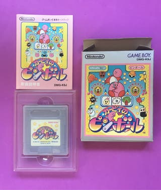 KIRBY'S PINBALL LAND game boy Nintendo