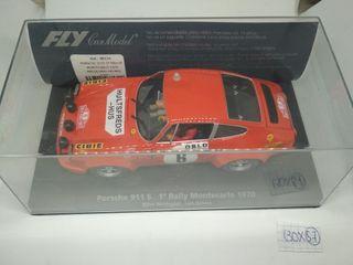 Fly Porsche 911S 1° Rallye Montecarlo 1970