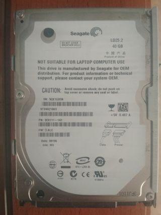 Disco Duro ST940210AS Seagate 40 gb