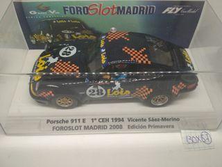 Ed. Especial Foro Slot Madrid Porsche 911 E CEH