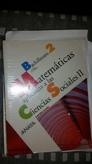 Libros 2 de Bachillerato.