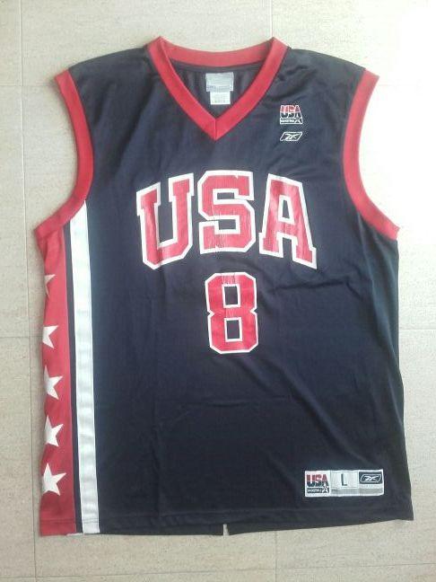 6f4a36af611b3 Camiseta baloncesto selección USA basket Olimpiada de segunda mano ...
