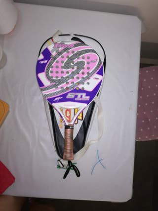 pala de padel y funda steel custom europe