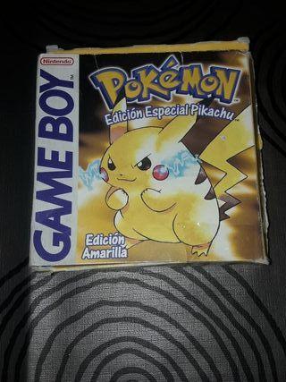 Juego Pokémon Edición especial Pikachu Game boy C