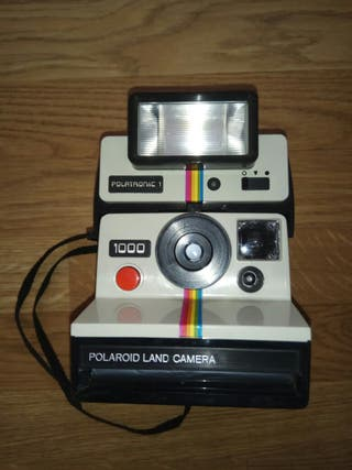Polaroid 1000 + Flash