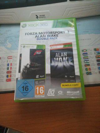 Forza motorsport 3 + Alan wake (Double pack)