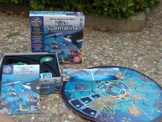Juego Vida Submarina