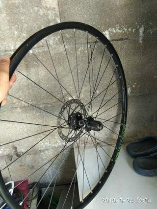 """llanta trasera bicicleta 29 """" eje de 9mm"""