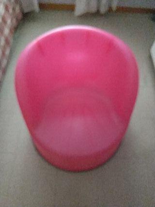 sillon de plastico