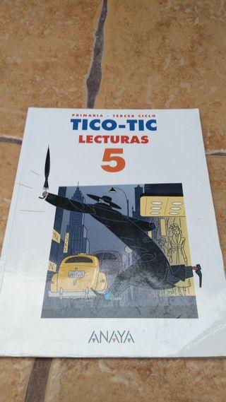 libro de texto 5 primaria TICO TIC