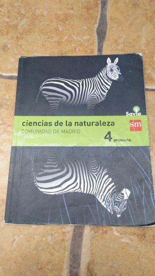 libro 4 primaria de ciencias de la naturaleza